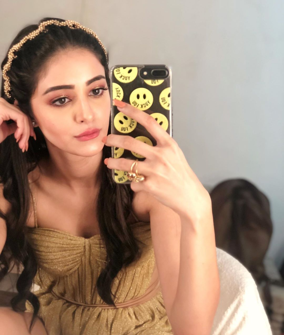 ananya panday Cute Selfie Pictures