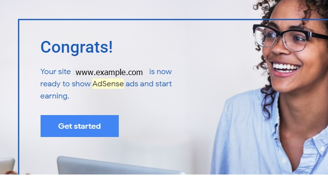 Approved Adsense
