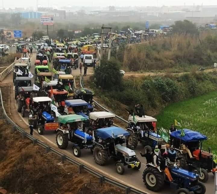 Farmers' Tractor Parade Republic Day 2021
