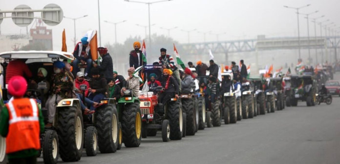 Farmers' Tractor Parade Republic Day