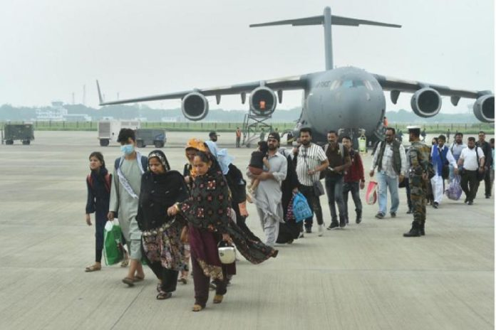 146 Indians reached Delhi evacuated from Afghanistan